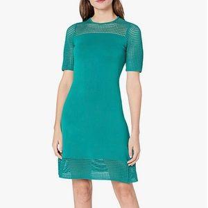 NEW Nanette Lepore Sweater Dress w/ Crochet Detail